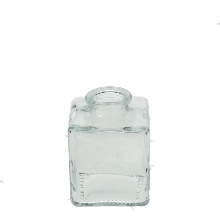 <h4>Glass Bottle sq d7*10cm</h4>