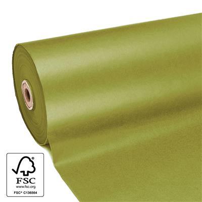<h4>Papier 60cm kraft 50gr  marron Olive fond 400m.</h4>