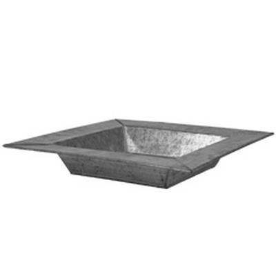<h4>Bowl Vigo zinc L25xW25xH5,5cm</h4>