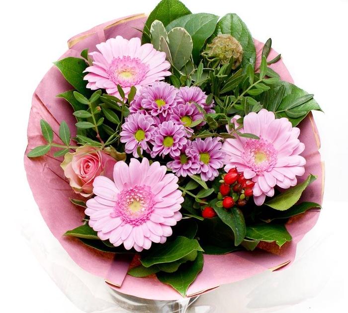 <h4>Boeket 1815 papier roze</h4>