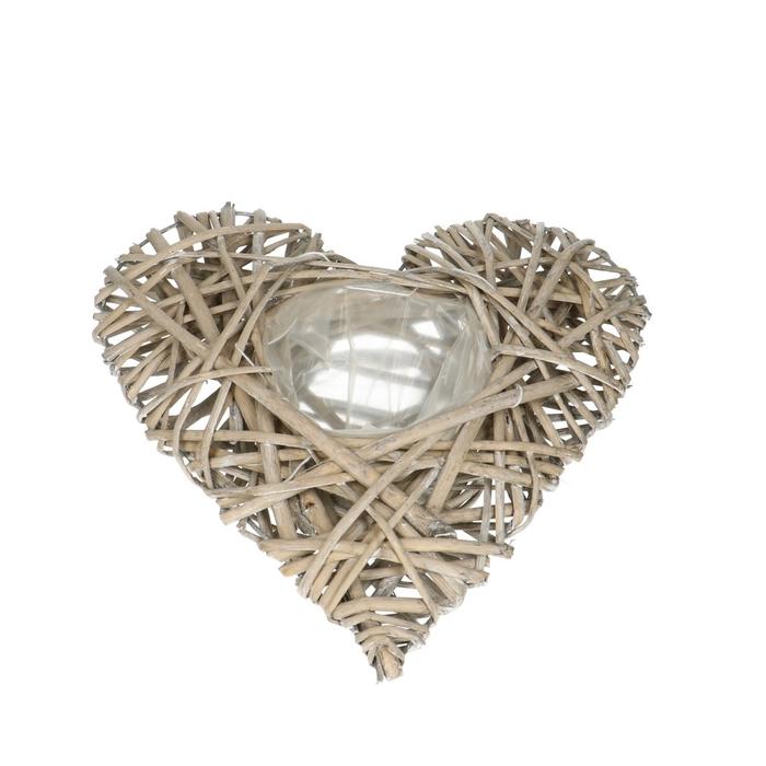 <h4>Baskets Heart willow d30/13*07cm</h4>