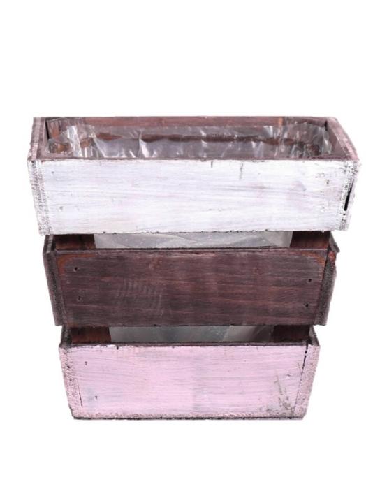 <h4>DF500084800 - Planter Nikole4 14x14x12 pink/white</h4>