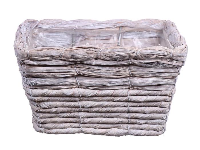 <h4>DF550124600 - Basket Timblin4 19x19xh10 natural white</h4>