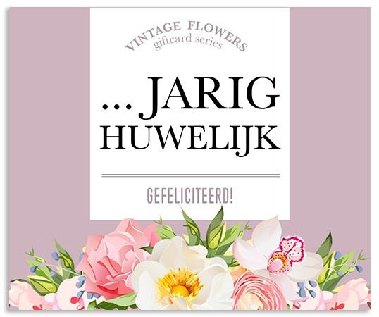 <h4>Labels Kaart 09*8cm x12 ..jarig huwelijk</h4>