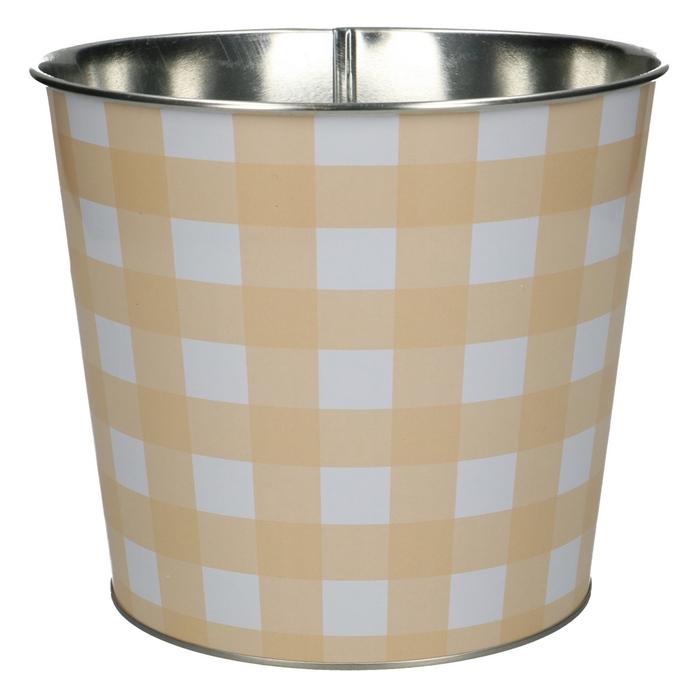 <h4>Zink Grid pot d16*14cm</h4>