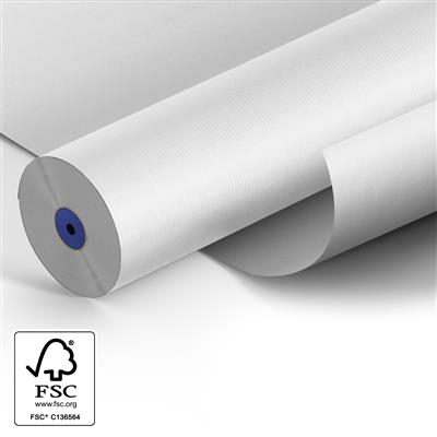 <h4>Papier 50cm Kraft blanc 50gr 400m.</h4>
