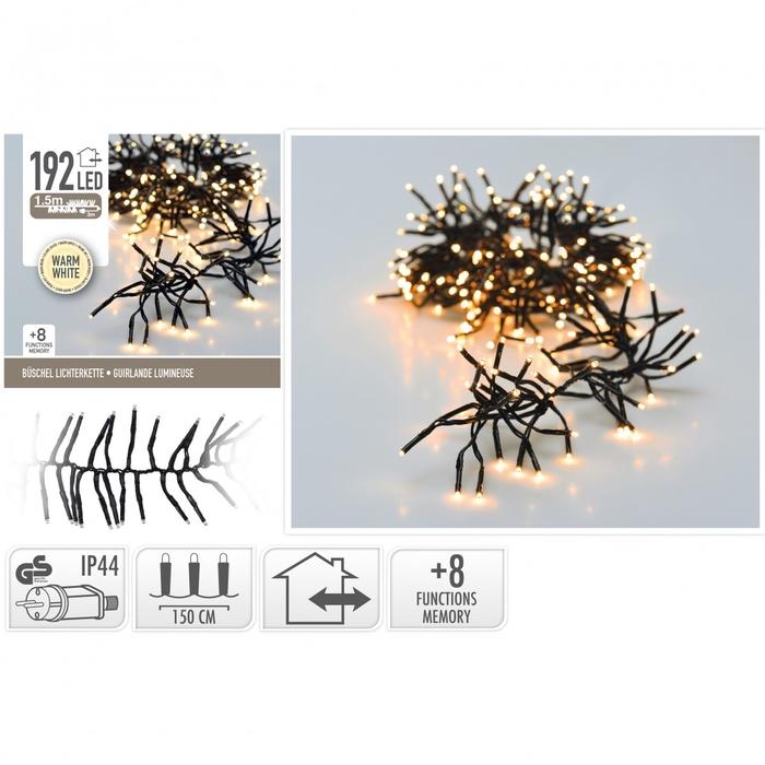 <h4>Kerst LED slinger cluster 192lmp</h4>