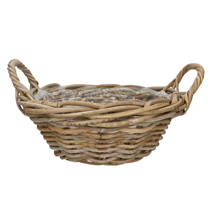<h4>Baskets Rattan bowl d35*14cm</h4>