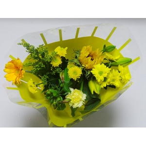 Bouquet 8 stems Yellow