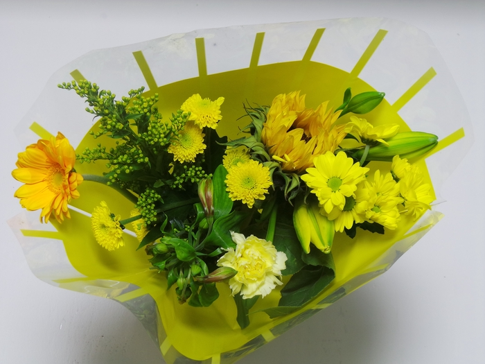 <h4>Bouquet 8 stems Yellow</h4>