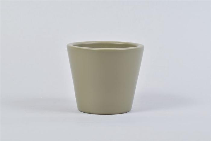 <h4>Vinci Legergroen Pot Container 12x10cm</h4>