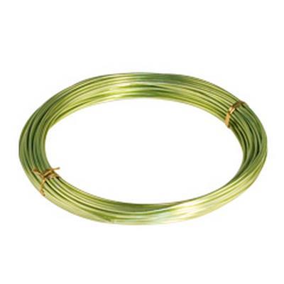 <h4>Gelakt aluminiumdraad - limoen 100 gram (12 meter)</h4>