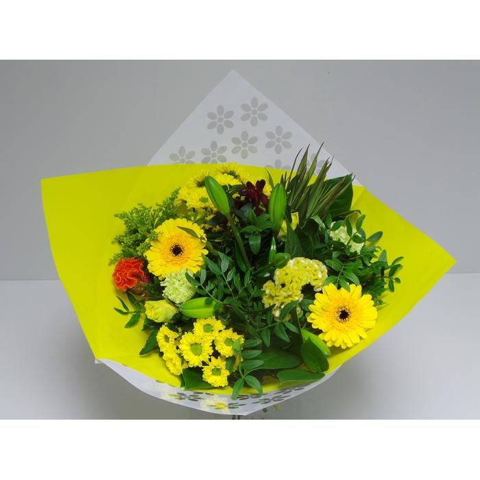 <h4>Bouquet Biedermeier Medium Yellow</h4>