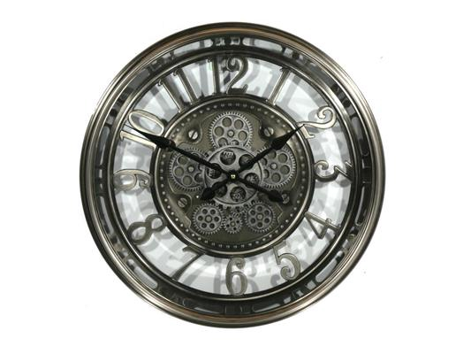 <h4>Clock Gear Open Ø54,5cm Grey</h4>