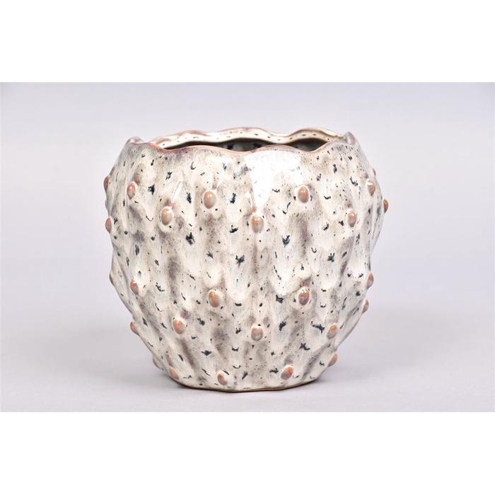 <h4>Amarillo Wit Pot 17x14cm</h4>
