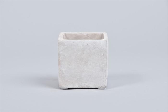 <h4>Beton Pot Vierkant 7x7x7cm</h4>