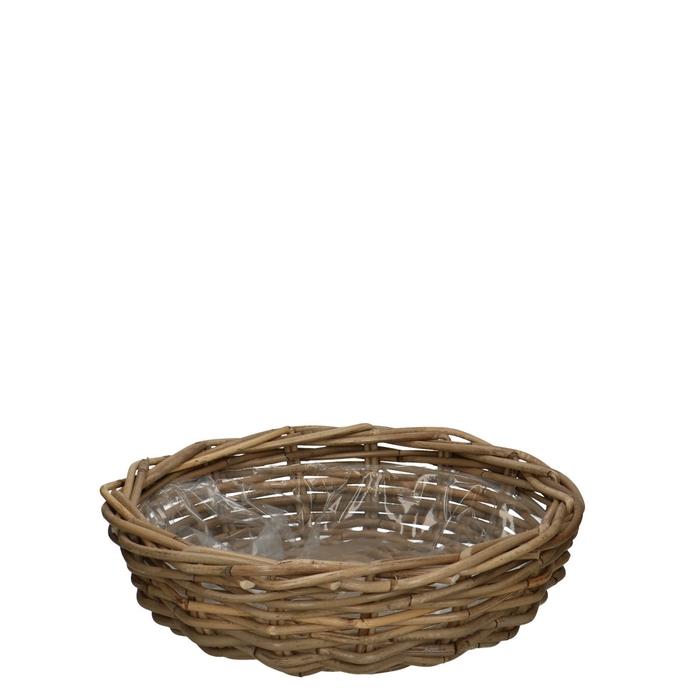 <h4>Baskets Rattan dish d41*12cm</h4>