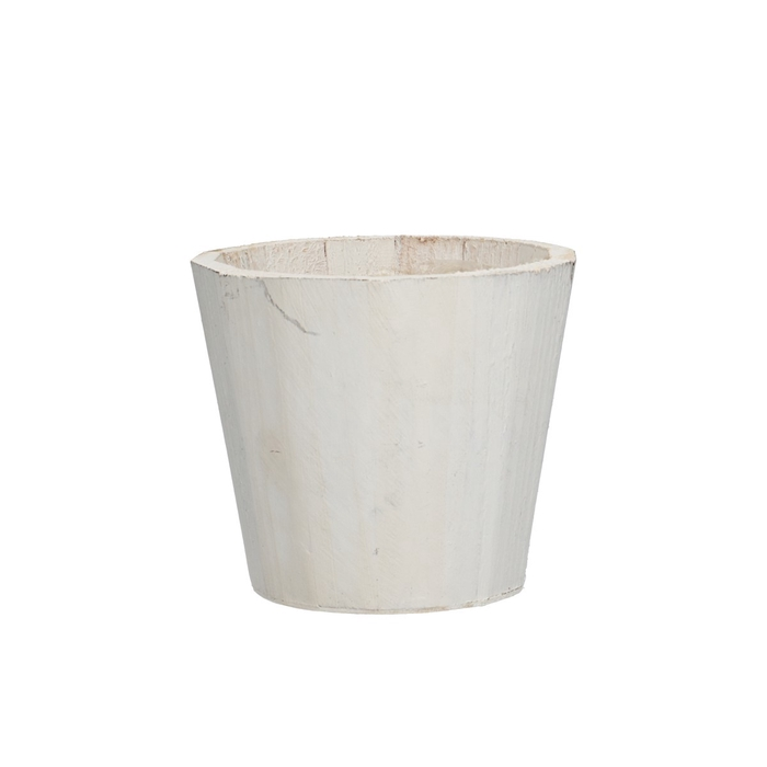 <h4>Hout Pot d14*12cm</h4>