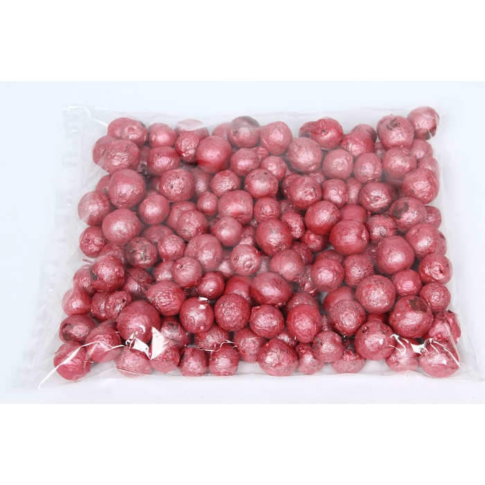<h4>Apple pods 500gr in poly Xmass metalic red</h4>