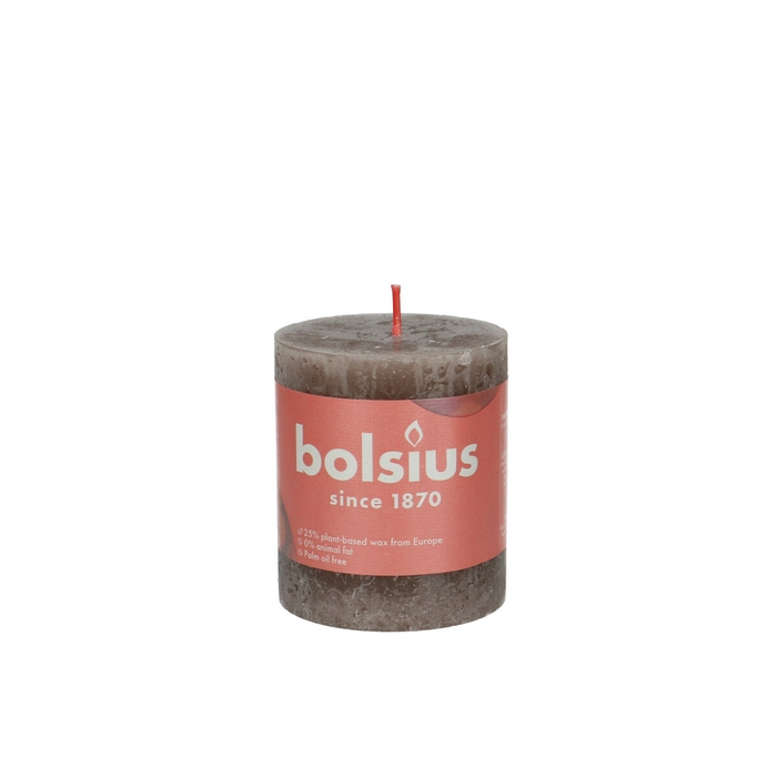 <h4>Candle Cylinder d07*08cm rustic eco</h4>
