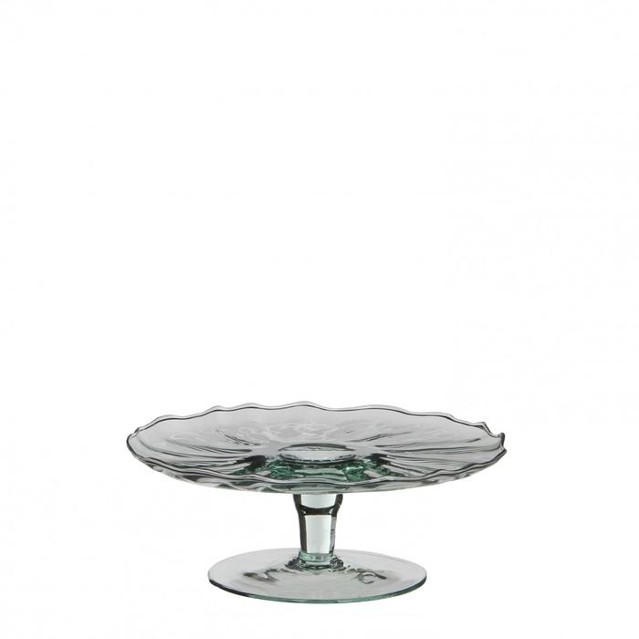 <h4>Glass Cake bowl d19*8.5cm</h4>