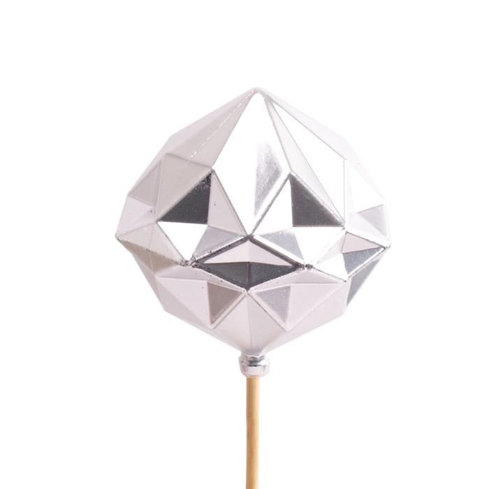 <h4>Christmas sticks 50cm Ball diamond d8cm</h4>