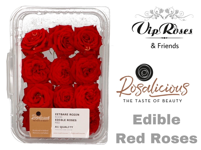 <h4>R EDIBLE ROSALICIOUS RED</h4>