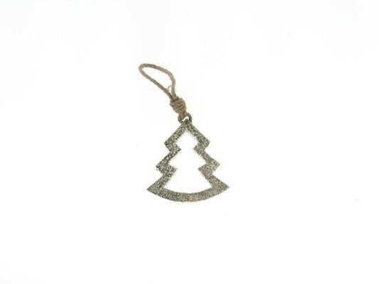 <h4>Tree Wood Open 10cm Platinum</h4>