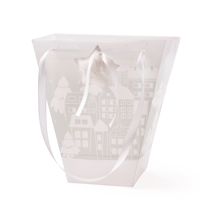 <h4>Christmas Bag Village 24/11*12/11*26cm</h4>