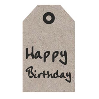 <h4>Bloemkaartjes ma -Happy Birthday- pakje 20 stuks</h4>