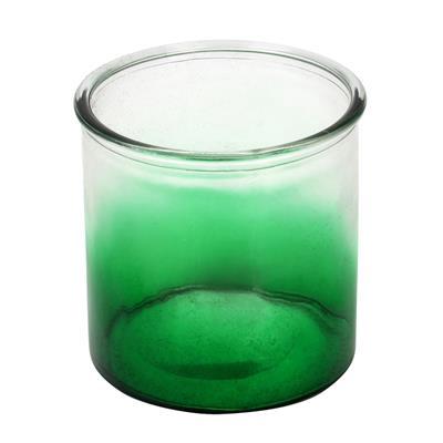 <h4>Vent léger Fes verre D12xH12cm vert</h4>
