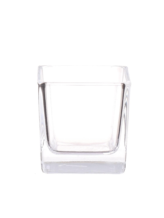<h4>DF882786600 - Pot square Abbey 6x6x6 clear</h4>