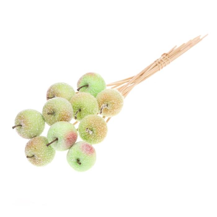 <h4>Apple 5cm o/s green+snw</h4>
