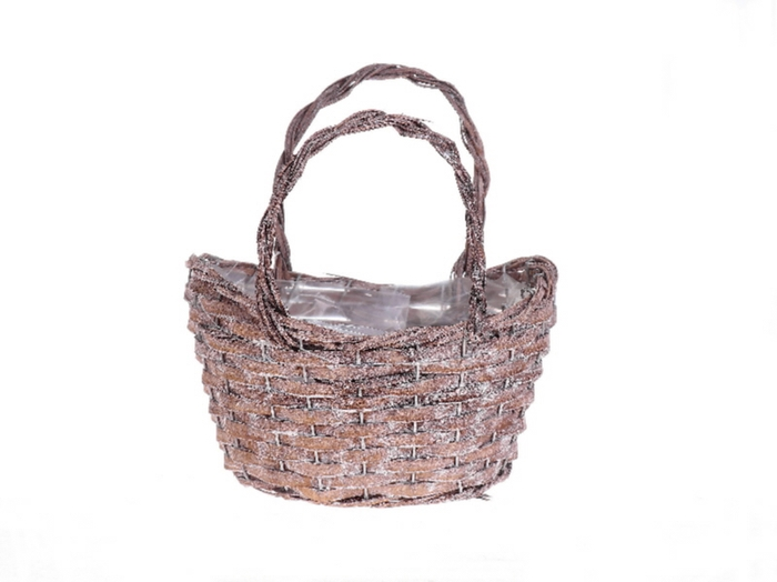 <h4>DF500090500 - Basket 'Anetta' ovl 24x18cm</h4>
