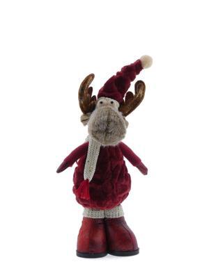 <h4>Fig. Reindeer Red 14x11x36cm</h4>