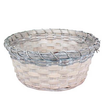 <h4>Bowl Jakarta bamboo ø25xH10cm whitewash</h4>