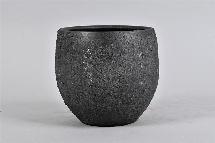 <h4>Bali Black Coal Pot 20x18cm</h4>
