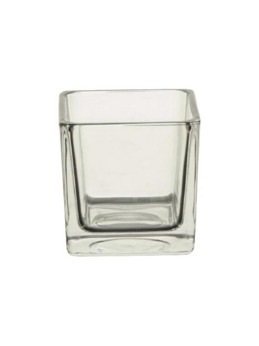 <h4>DF882552200 - Pot square Abbey 8x8x8 clear</h4>