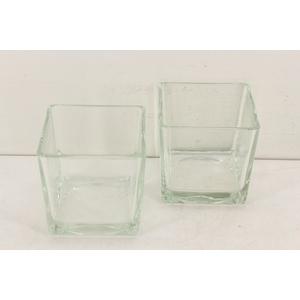 Deco. 10200037 - Glas cube M