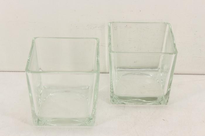<h4>Deco. 10200037 - Glas cube M</h4>