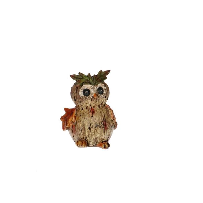 <h4>Autumn Owl deco 7*5.5*10cm</h4>