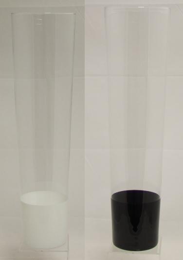 <h4>DF882983600 - Vase Sjimmy1 d18.7xh70 black/white</h4>