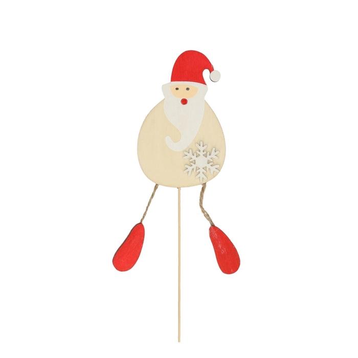 <h4>Christmas sticks 50cm Fun santa 10cm</h4>