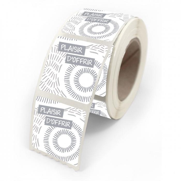 <h4>Labels Sticker 40*35mm Plaisir d'offrir x500</h4>
