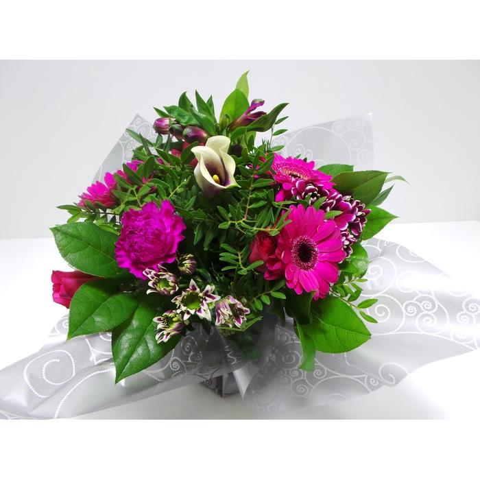 <h4>Bouquet Aqua Medium Lilac</h4>