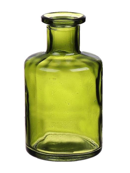 <h4>DF663411800 - Bottle Caro9 d6.8xh11.8 vintage green</h4>