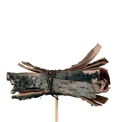 <h4>Bijsteker Berk bundel 8x3cm+50cm stok naturel</h4>