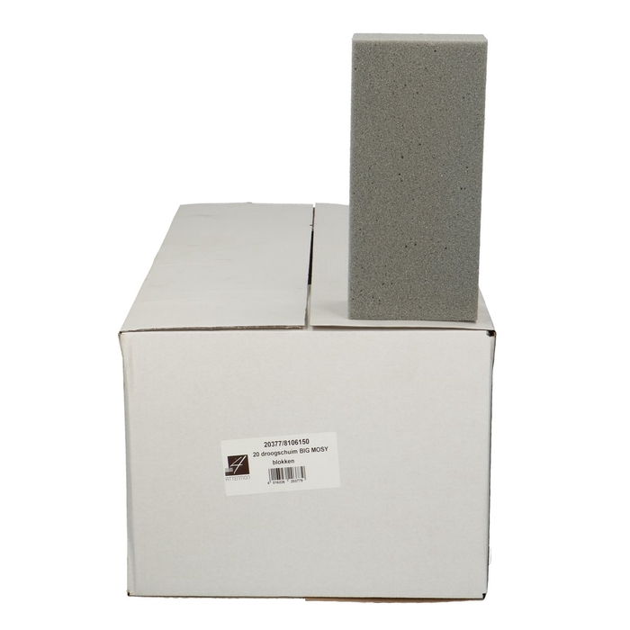 <h4>Foam  Block SEC 23*11*8cm x20</h4>