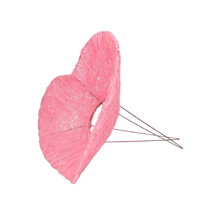 <h4>Valentijn Boekethouder Hart sisal d20cm</h4>