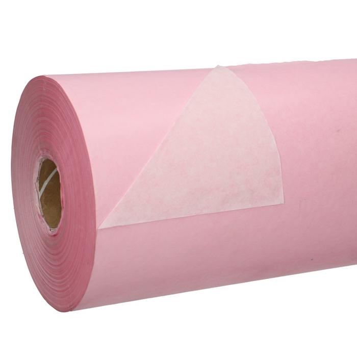 <h4>Papier Rol 75cm 40g 10kg Wit/Roze</h4>